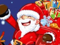 Флеш игра Разбей рождественские блоки