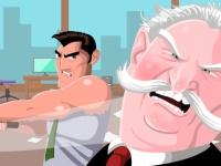Флеш игра Разборки в офисе