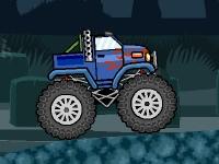Флеш игра Раздави зомби на грузовике