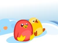 Флеш игра Разморозь пингвинов