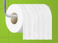 Флеш игра Размотай туалетную бумагу