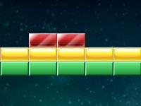 Флеш игра Разноцветные кирпичики 2