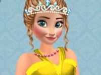Флеш игра Разноцветные платья для принцесс