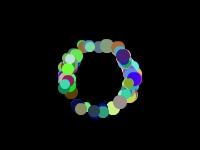 Флеш игра Разноцветные шарики