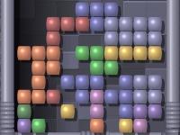 Флеш игра Разноцветный тетрис
