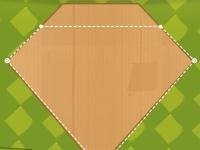 Флеш игра Разрежь коробку