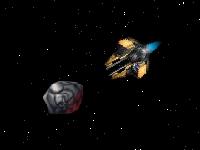 Флеш игра Разрушитель астероидов