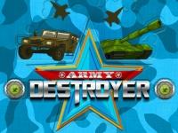 Флеш игра Разрушитель военной техники