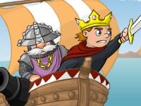 Флеш игра Разрушитель замков 2: По морям