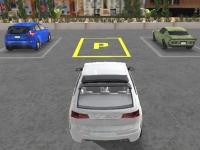 Флеш игра Реалистичная парковка