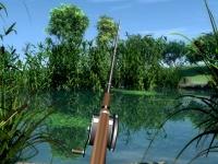 Флеш игра Реалистичная рыбалка на озере