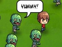 Флеш игра Ребенок и зомби