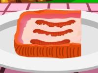 Флеш игра Рецепт бекона с колбаской