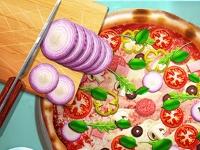 Флеш игра Рецепт классической пиццы