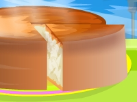 Флеш игра Рецепт кокосового пирога