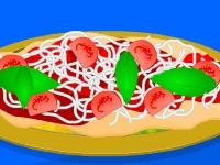 Флеш игра Рецепт пиццы Маргарита