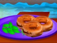 Флеш игра Рецепт пончиков