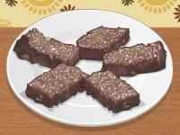 Флеш игра Рецепт шоколадных брауни