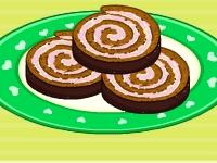 Флеш игра Рецепт торта из шоколадного мороженного от Барби