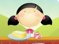 Флеш игра Рецепты Эммы: Сладкие панкейки