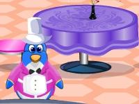 Флеш игра Ресторан для пингвинов в Нью-Йорке