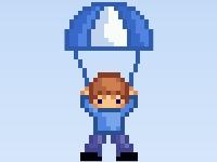 Флеш игра Рискованное свободное падение с парашютом