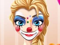 Флеш игра Рисунки на лицах принцесс ко дню рождения
