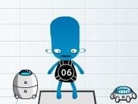 Флеш игра Робот для испытаний 2