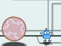 Флеш игра Робот и шары