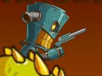 Флеш игра Робот на драконе 3