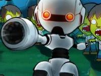 Флеш игра Робот против зомби