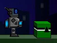 Флеш игра Робот с телепортом