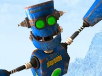 Флеш игра Роботы-шахтеры