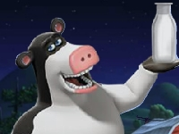 Флеш игра Рога и копыта: молоко для вечеринки