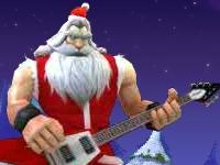 Флеш игра Рок-звезда Санта 4