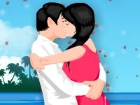 Флеш игра Романтические поцелуи