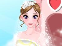 Флеш игра Романтический свадебный наряд