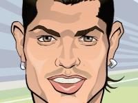Флеш игра Роналду против Месси: Пощечина