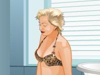 Флеш игра Роскошная ванная Леди Гага