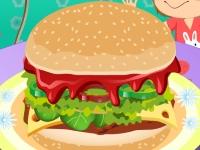 Флеш игра Роскошный гамбургер