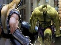 Флеш игра Росомаха против Халка: Пазл