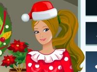Флеш игра Рождественская куколка