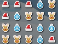 Флеш игра Рождественские блоки