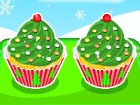 Флеш игра Рождественские кексы в виде елочек