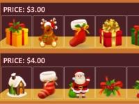 Флеш игра Рождественские покупки