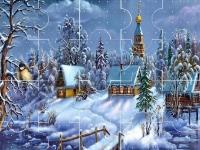 Флеш игра Рождественские праздники: Пазл