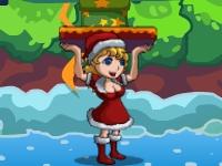 Флеш игра Рождественские приключения Санты