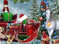Флеш игра Рождественские приключения снеговика