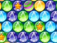 Флеш игра Рождественские пузыри