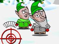 Флеш игра Рождественские снежки